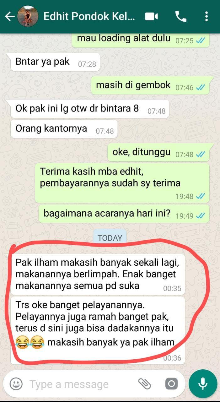 testimoni buddies travel